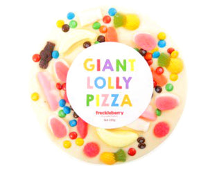 Giant White Chocolate Pizza