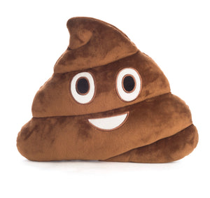 Poo Emoji Cushion