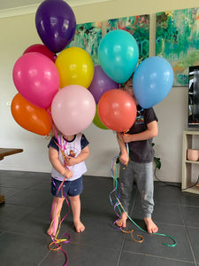 30cm solid colour balloon