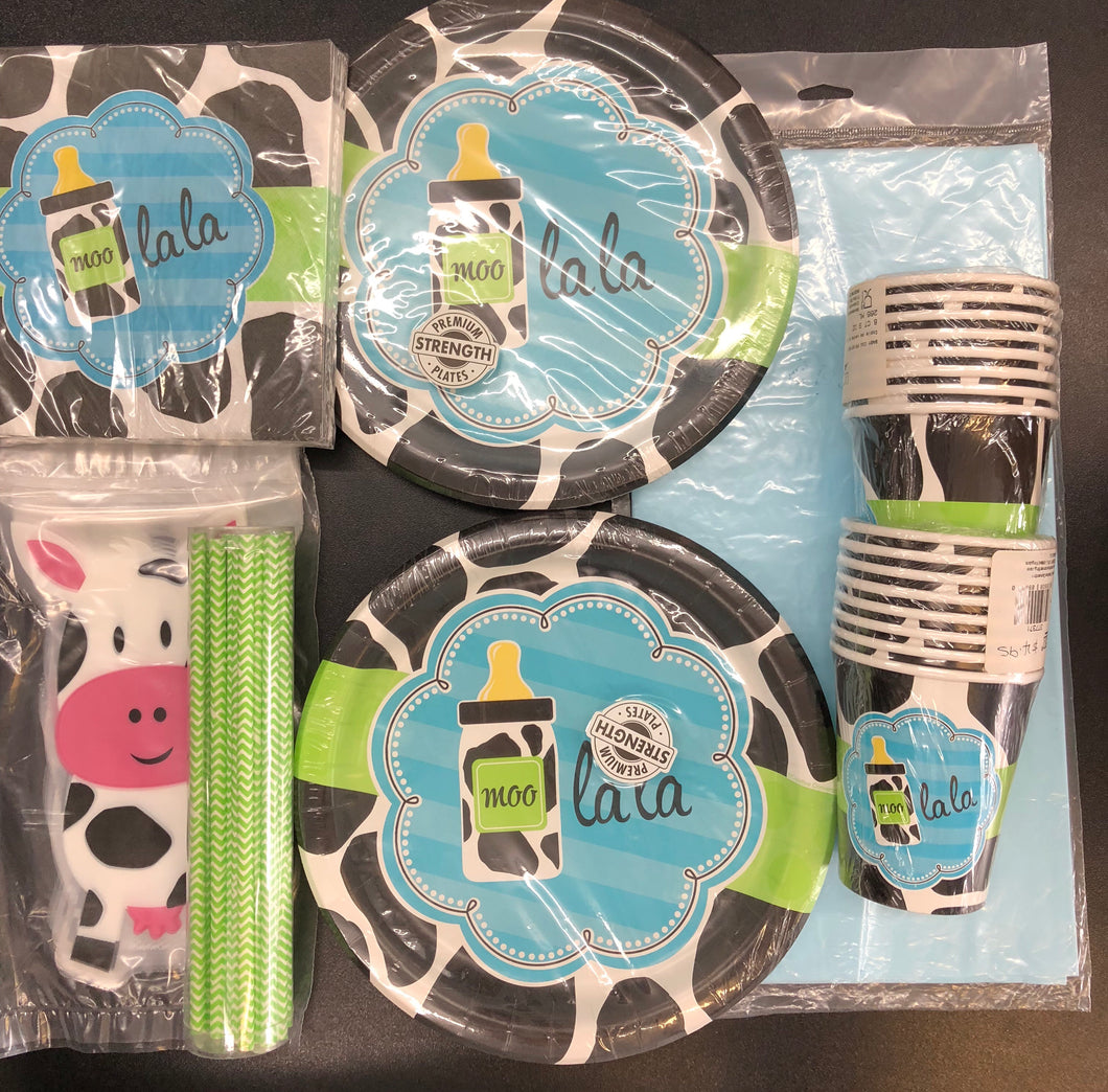 Moo Lala Boy Party Pack