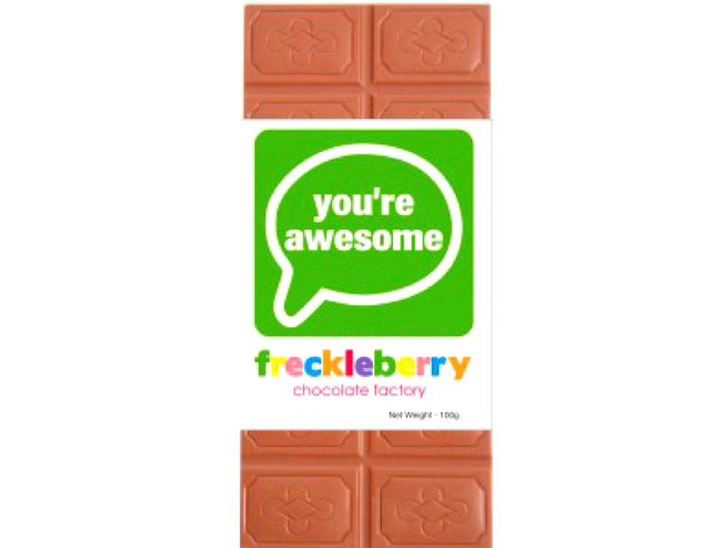 You're Awesome Milk Chocolate