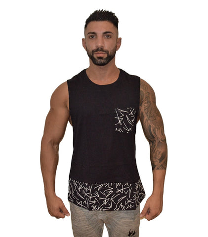 Savage Tank - Midnight Black