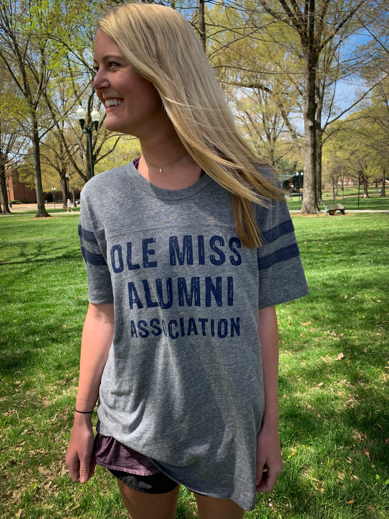 Ole Miss Alumni Association Vintage Jersey Football Tee