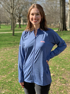 Ole Miss Alumni Association + Horn Legend Women's Full-Zip Jacket