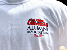 Load image into Gallery viewer, Ole Miss Alumni Association Logo Tee