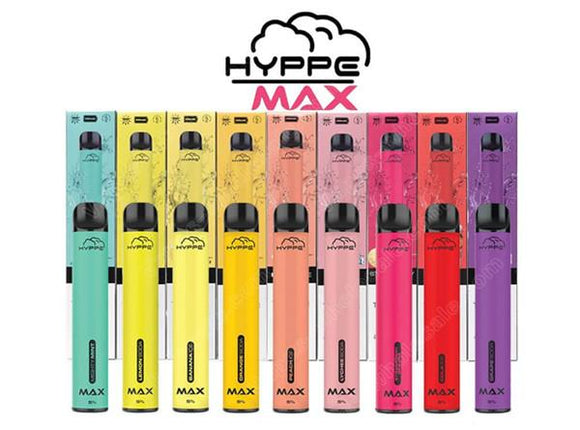 Hyppe Max Bar Disposable Device – 1500 Puffs
