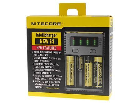 All-New NITECORE i4 Intellicharger Smart Battery Charger - Vaporider