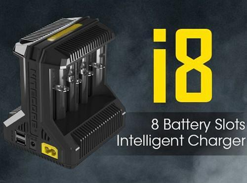 Nitecore Intellicharger i8 8-Bay Battery Charger
