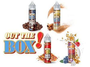 Out The Box! 60mL Cereal Flavored Premium E-Liquid - Vaporider