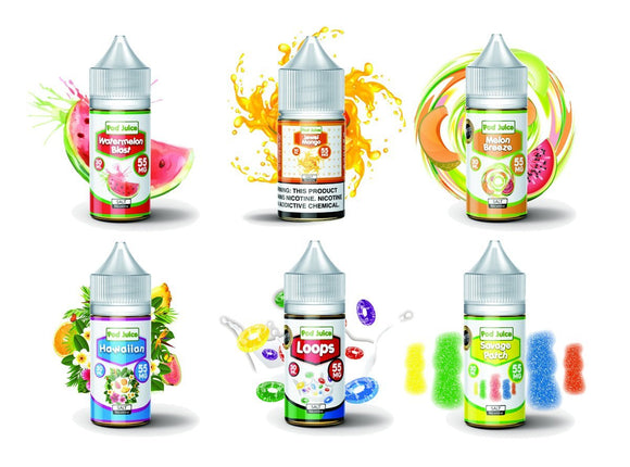 Pod Juice 30ML Nicotine Salt