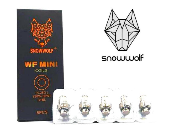 SnowWolf WF Mini Replacement Coils (5pcs)