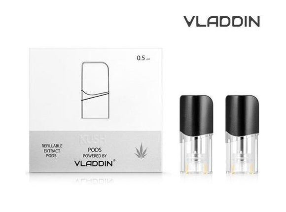 Vladdin Kush Refillable Replacement Pod Cartridge (2pcs)