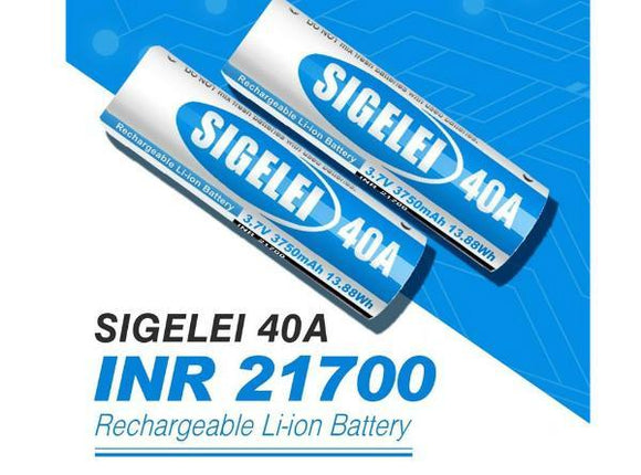 Sigelei INR 21700 Rechargeable Li-ion Battery