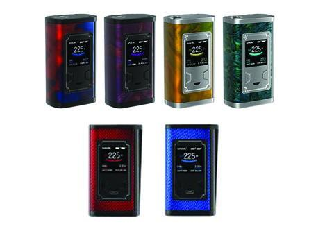 SMOK Majesty 225W TC Box Mod Resin / Carbon Fiber Color Available (Mod Deals) - Vaporider