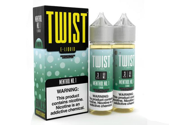 Menthol No.1 by Twist E-Liquid