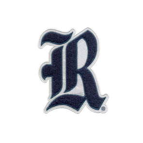 Rice University Vintage Old English R Chenille Patch