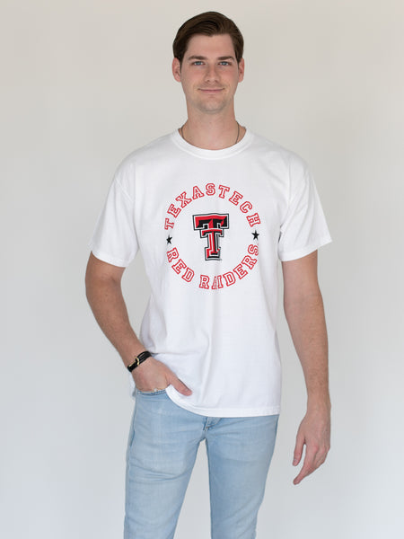 Texas Tech University Red Raiders Comfort Colors MVP T-Shirt - White