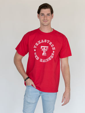 Texas Tech University Red Raiders Comfort Colors MVP T-Shirt - Red