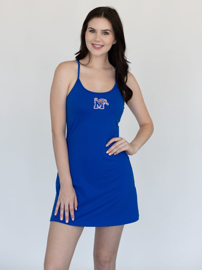 University of Memphis Tigers Campus Rec Dress - Blue