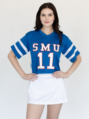 Southern Methodist University Mustangs SMU Cropped Football Jersey