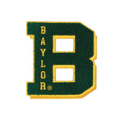 Baylor University Bears Jumbo B Chenille Patch