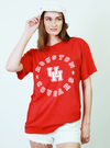 University of Houston Cougars MVP Comfort Colors Short Sleeve T-Shirt - Red