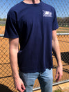 The University Embroidered Tee - Georgia Southern - Navy