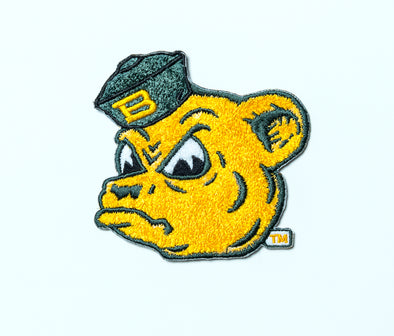 Baylor University Bears Vintage Sailor Bear Chenille Patch - Green Hat