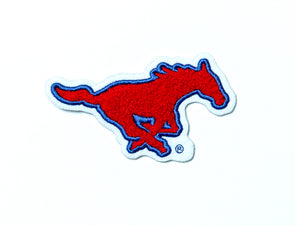Southern Methodist University SMU Mustangs Chenille Pony Patch