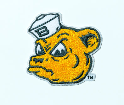 Baylor University Bears Vintage Sailor Bear Chenille Patch - White Hat