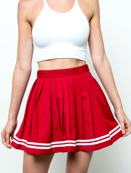 Gameday Skirt - Red