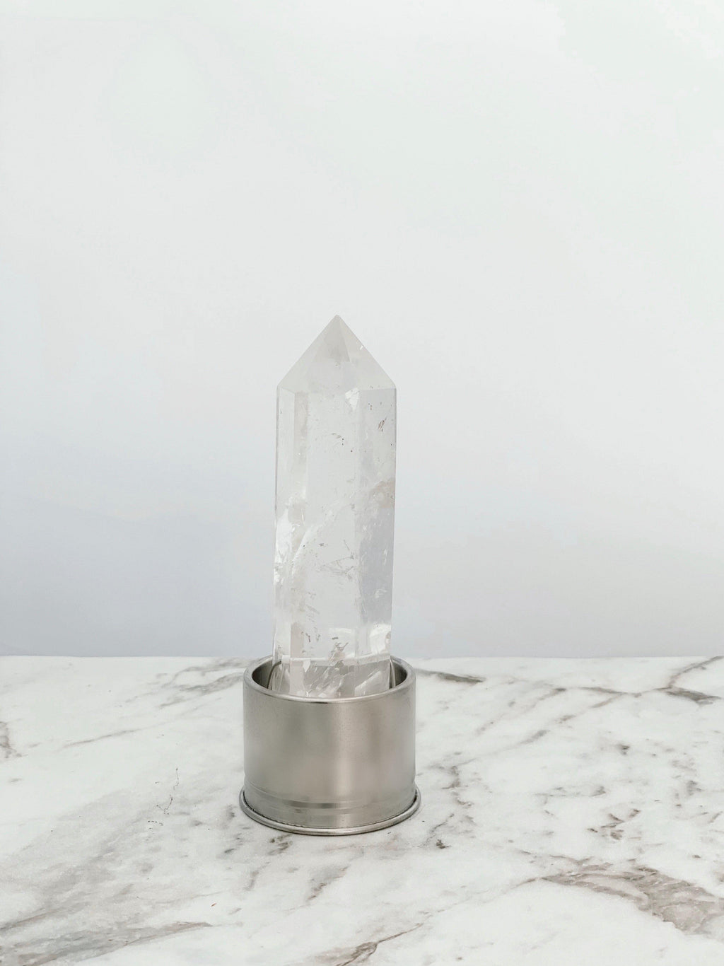 Clear Quartz Interchangeable Crystal kesshō