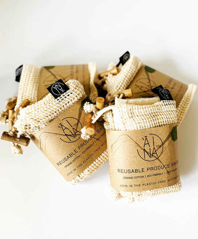 'Āina Re-usable produce Bags (3-pack)