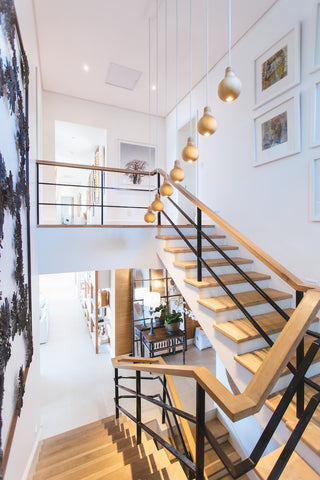 A home decorated with art makes a big impact and makes the home more inviting