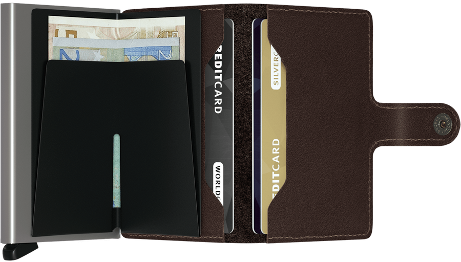 MiniWallet - Dark Brown