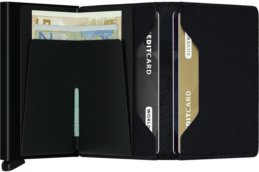 Slim Wallet - Crisple Black