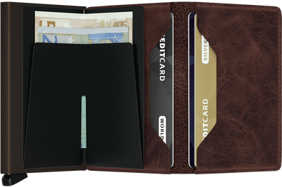 Slimwallet: small, strong, protects your identity