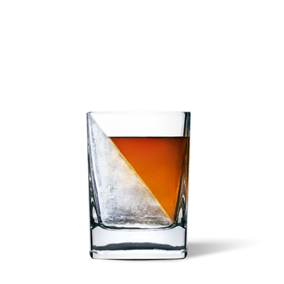 Corkcicle - Whiskey Wedge. Chills drink without diluting flavor.
