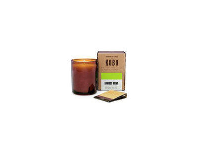 KOBO Woodblock Candle - Bamboo Mint - small