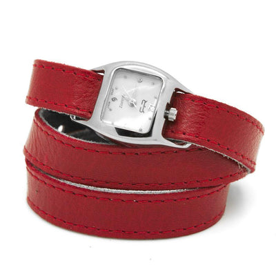 TWIST Wrap Watch - Cherry Red - Rimanchik