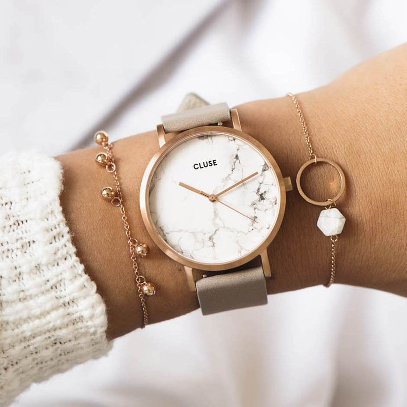 Cluse La Roche Watch - Rose Gold