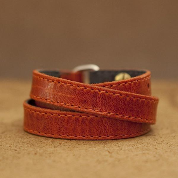 TWIST Wrap Watch - Orange-Rimanchik