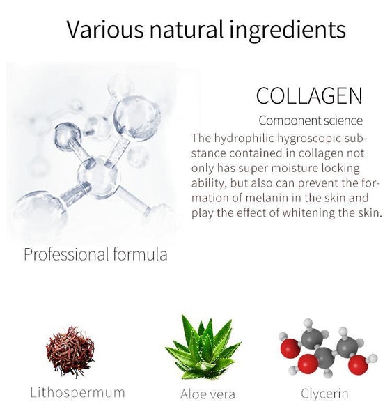 Collagen + Lithospermum Japan Facial Essence Mask JP002-A-2