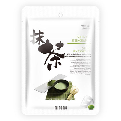 Green Tea Matcha Japan Facial Essence Mask JP512-C-0