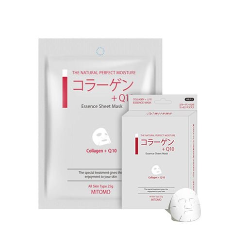 Collagen + Q10 Elasticity Japan Facial Essence Mask MC001-A-1