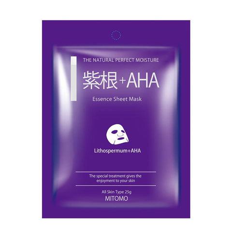 Lithospermum + AHA Pore Control Japan Facial Essence Mask MC001-A-2