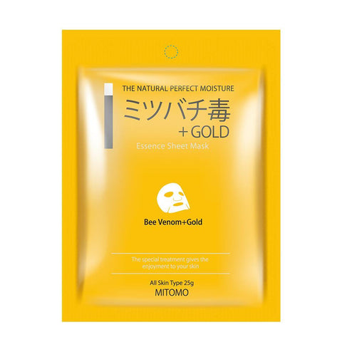 Beevenom + Gold Japan Sensitive Skin Cleaning Facial Essence Mask MC001-A-5