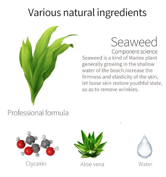 Natural Seaweed Purifying Japan Facial Essence Mask MT512-C-5