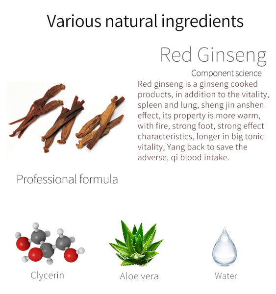 Japan MITOMO Natural Red Ginseng Elasticity Brightening Facial Essence Mask MT612-C-9