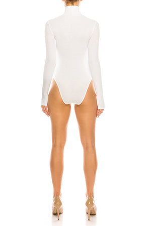 London Mock-Neck Bodysuit